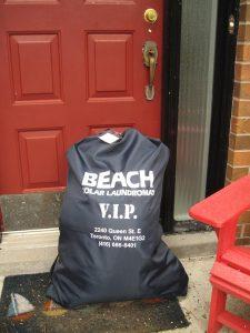 Beach Solar Laundromat delivery bag